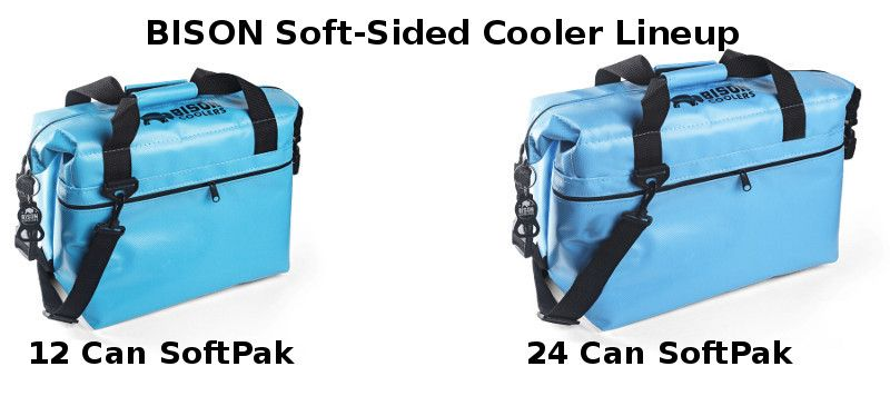 Bison Soft Sided Cooler Lineup