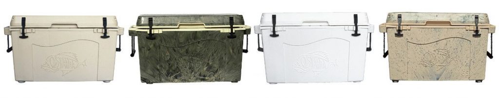 Taiga Hard sided Coolers Color Options