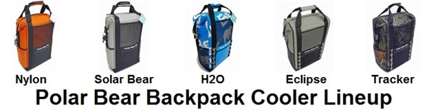 polar bear backpack cooler lineup