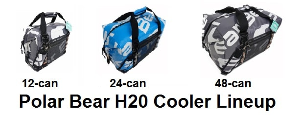 polar bear h2o cooler lineup